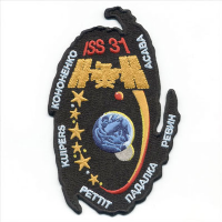 International Space Station Expedition 31 Embroidered Patch